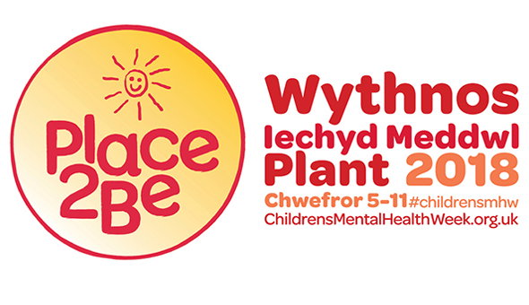 Welsh Children's Mental Health Week logo