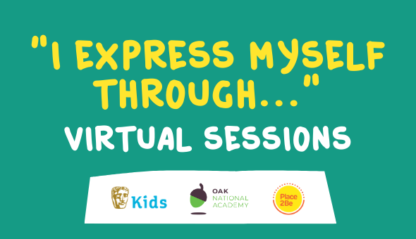 """I express myself through..."" virtual sessions"